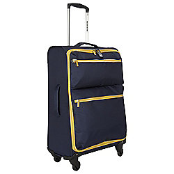 Revelation by Antler Skye 4-Wheel Suitcase, Navy Medium