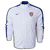 2014-15 USA Nike Authentic N98 Jacket (White) - White