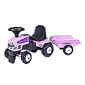 Baby Princess Tractor with Trailer and Accessories