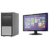 Viglen Desktop Bundle, 22-inch Monitor, Intel Core i5, 16GB RAM, 2TB