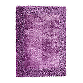 Oriental Carpets & Rugs Sable 2 Purple Tufted Rug - 230cm L x 150cm W