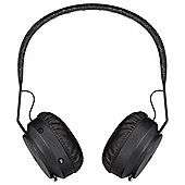 Marley Rebel Bluetooth Headphones, Black