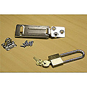 BillyOh Deluxe Padlock and Hasp - Deluxe Padlock and Hasp