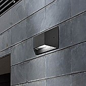 LEDS-C4 Pasteur Wall Light with Polycarbonate Diffuser in Urban Grey