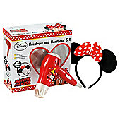 Minnie Mouse Hair Dryer & Headband Set
