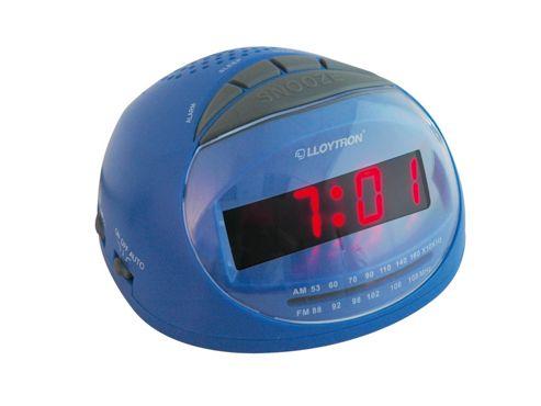 Lloytron J2002Bl Sonata Radio Alarm Clock Blue