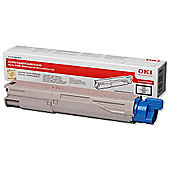 OKI Toner Cartridge for C3300/C3400/C3450/C3600 Desktop Colour Printers (Black)