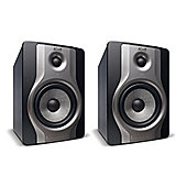 M-Audio BX5 Carbon - Pair, Compact studio monitors for music production and mixing.
