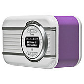 View Quest Christie DAB/DAB+/FM Radio with Bluetooth Speaker Radiant Orchid