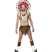 Adult Official Village People Indian Costume