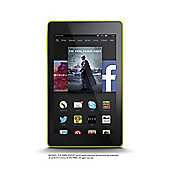 "Fire HD 6, 6"" Tablet, 8GB, WiFi - Yellow (2014)"