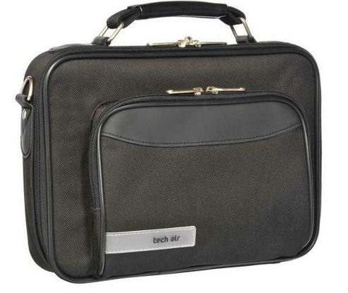 Techair Z Series Z0105V4 Classic Clam Case (Black) for 7 inch to 11.6 inch Sub-Notebooks