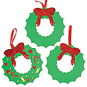 Wreath Foam Blanks for Children to Decorate(6 Pcs)