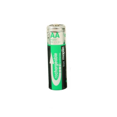 AA Extra-High Capacity NiMh Rechargeable Batteries, Pack of 4