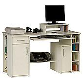 Maja Seattle White Computer Desk