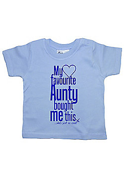 Dirty Fingers My Favourite Aunty bought me this She's Cool! T-shirt - Blue