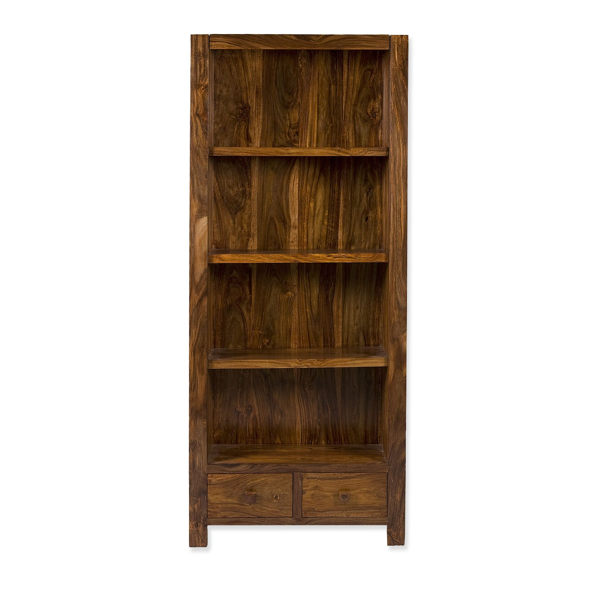 Elements Block Bookcase in Warm Lacquer at Tesco Direct