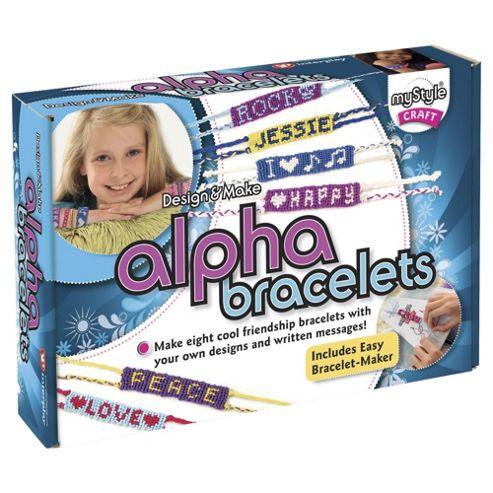 Mystyle Alpha Bracelets