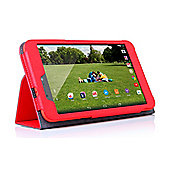 hudl 2 Red Faux Leather Case