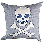 Skull and Crossbones Boys Cushion