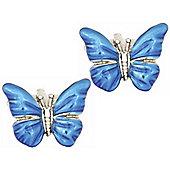 Blue Butterfly Cufflinks