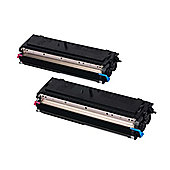 OKI High Capacity Toner Cartridge for B4520/B4540 Multi Function Printers (Black) - 2 Pack