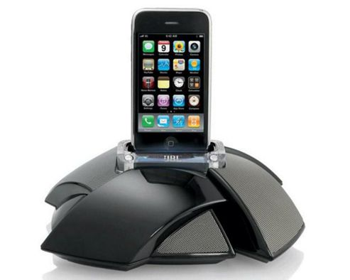 Harman International Industries JBL On Stage IV Portable Speaker Dock For iPhone and iPod - Black