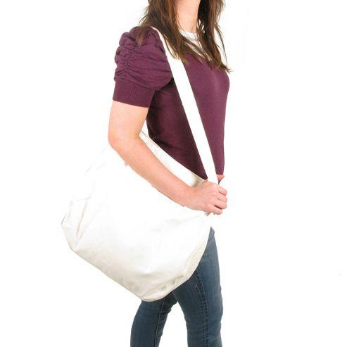 Artys Messenger Bag, White