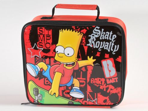 Dnc 106-566 Simpsons Skate Royalty Lunch Bag