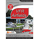 VFR Airfields Volume 1 - Southern England & South Wales for FSX - PC