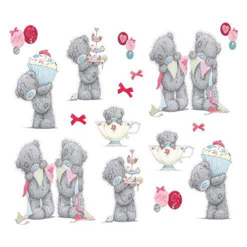 Tatty Teddy Tea Party Wall Stickers