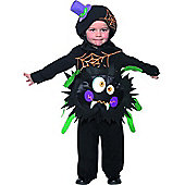 Toddler Crazy Spider Costume Small