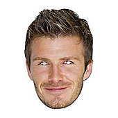 David Beckham Fancy Dress Mask