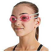 Speedo Junior Jet Swimming Goggles, Clear/Pink