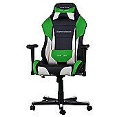 DXRacer DRIFTING Gaming Chair Black / White / Green OH/DF61/NWE