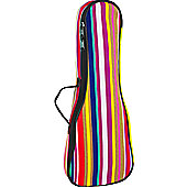 Tom and Will 63UKS Soprano Ukulele Gig Bag - Stripes