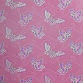 Papillon Butterfly Wallpaper - Pink 10302