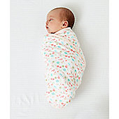 B Baby Bedding Swaddling Blanket -Light Pink Size 0-3 months