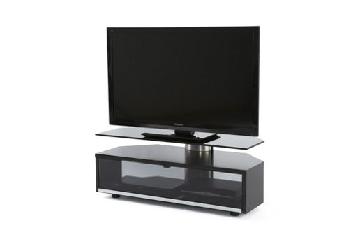 Off The Wall Duo TV Stand - Black