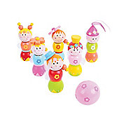 Bigjigs Toys BJ864 Fairy Skittles (Height: 8cm)