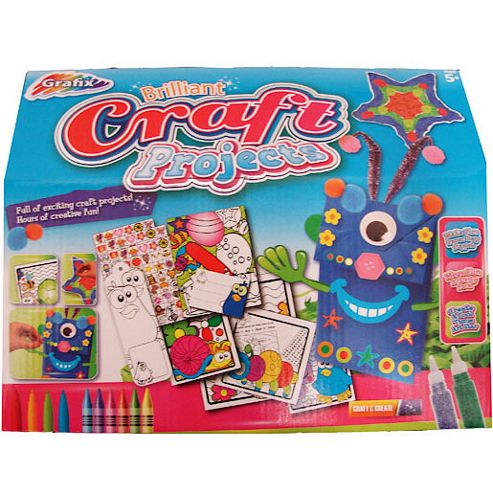 Grafix Brilliant Craft Projects Set