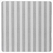 Tesco Grey Stripe Placemat, 4 Pack