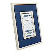 Linea Navy Wooden Frame 4X
