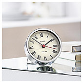 Jones Tibbet Chrome Alarm Clock