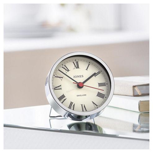 Jones Tibbet Chrome Alarm Clock