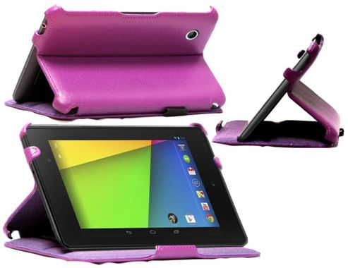 Navitech Google Nexus 7 2nd Gen. heat sync/Pioneer case - Purple