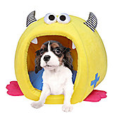 Pet Brands Fashion Monster Chunky Igloo Pet Bed