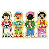 Bigjigs Toys BJ671 Children At Play Magnetic Puzzle