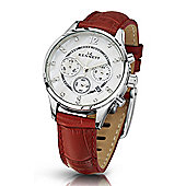 Kennett Ladies Lady Savro Silver Red Watch LWSAVWHSILRD