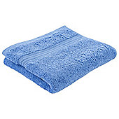 Tesco Hygro 100% Cotton Hand Towel, Cotton Blue